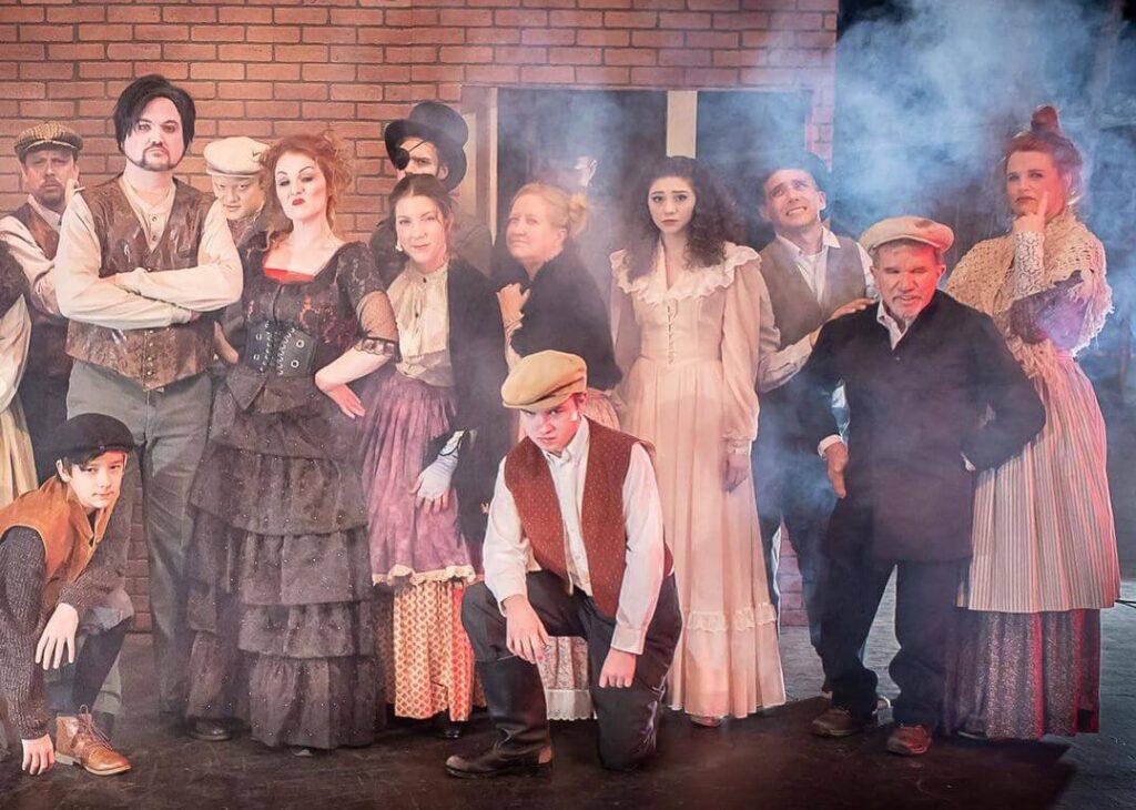 Amarillo Cast of Sweeney Todd